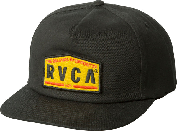 RVCA Wrecking Crew Snapback Hat