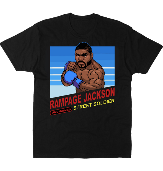 Rampage Jackson 8-Bit TShirt - Bridge City Fight Shop