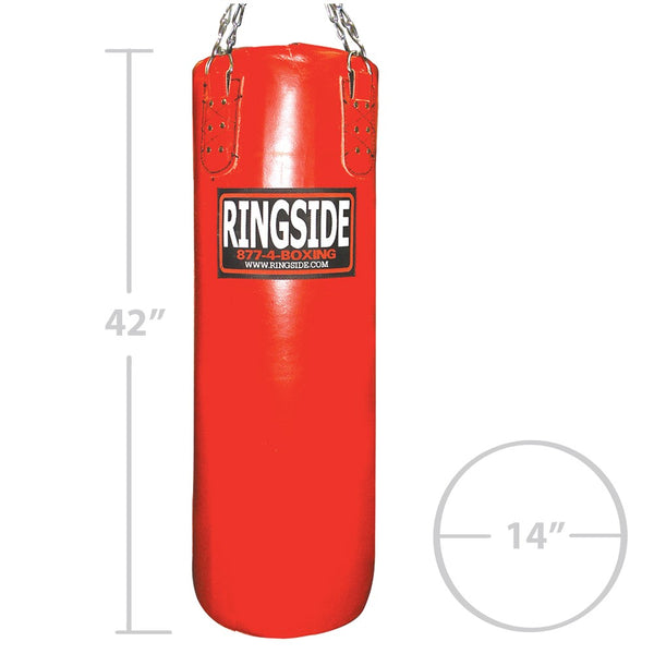 Ringside Leather 100lb. Heavy Bag - Filled