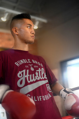 Rumble Bros Hustle Tee - Bridge City Fight Shop