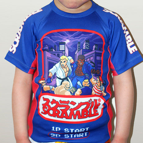 Scramble Kids Beat Em Up Rashguard - Bridge City Fight Shop