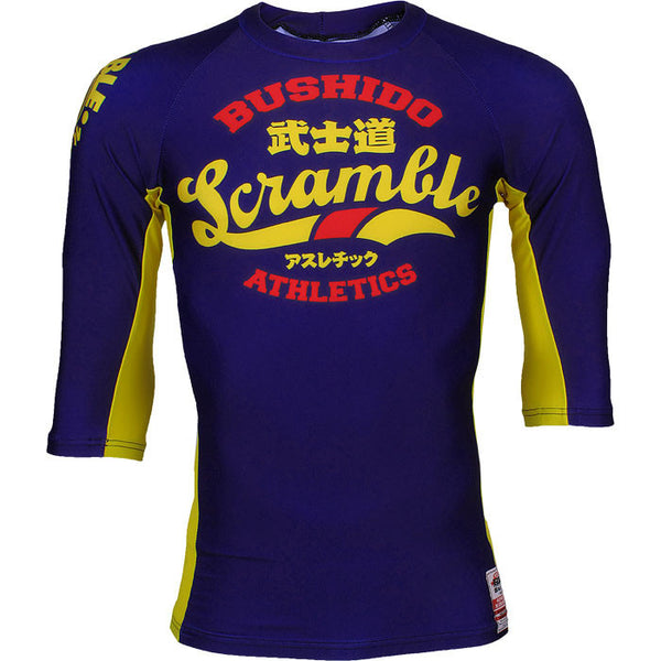 Scramble Bushido Athletics Rashguard - Bridge City Fight Shop