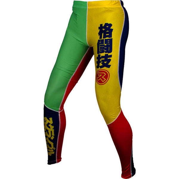 Scramble Rainbow Spats - Bridge City Fight Shop - 1