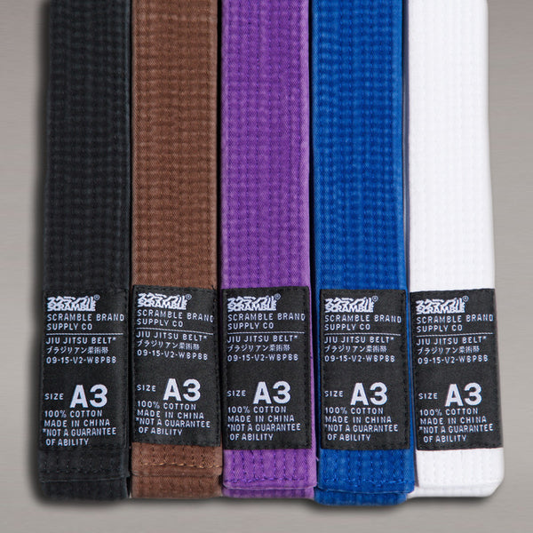 Scramble BJJ Belt V2 - Bridge City Fight Shop - 1