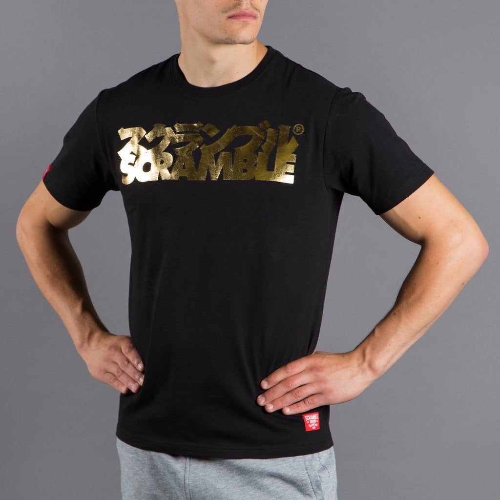 Scramble Gold Logo T-Shirt - Bridge City Fight Shop
