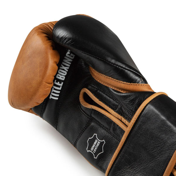 TITLE Vintage Leather Training Gloves