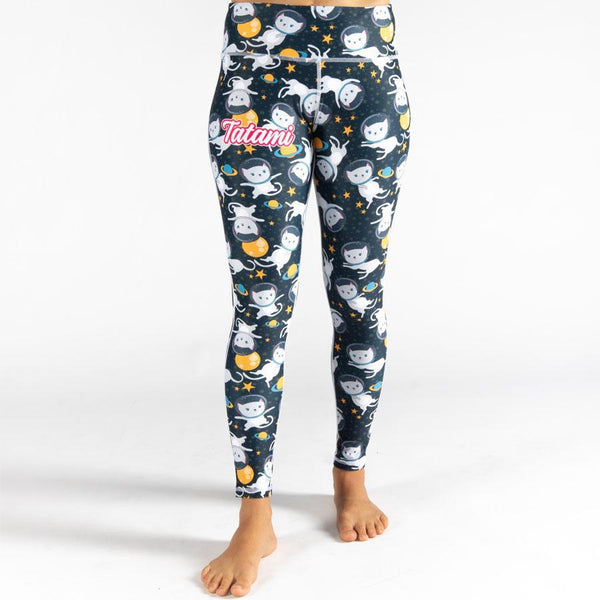 Tatami Ladies Astro Cat Print Leggings