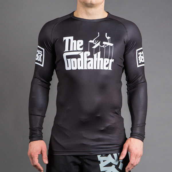 "Scramble x ""The Godfather"" Official Rashguard - Bridge City Fight Shop - 1"