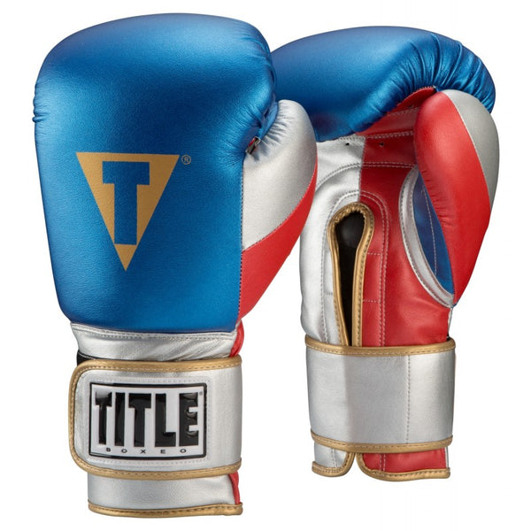 Title Boxeo Money Metallic Training Gloves