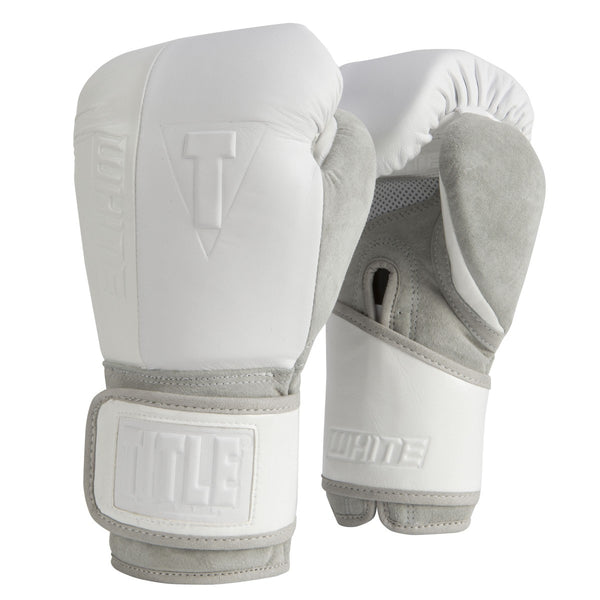 Title White Training Gloves