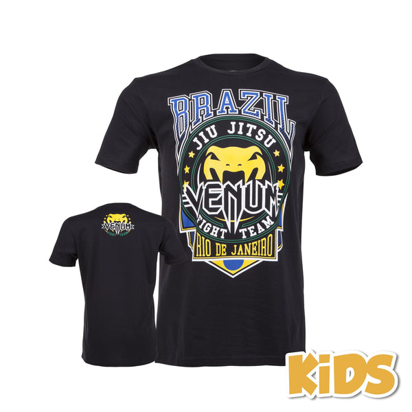 "Venum ""Carioca Junior"" T-shirt - Black - Bridge City Fight Shop - 1"