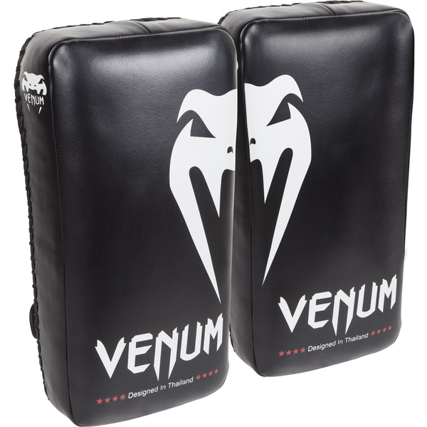 Venum Giant Kick Pads - Black/Ice (Pair) - Bridge City Fight Shop - 1