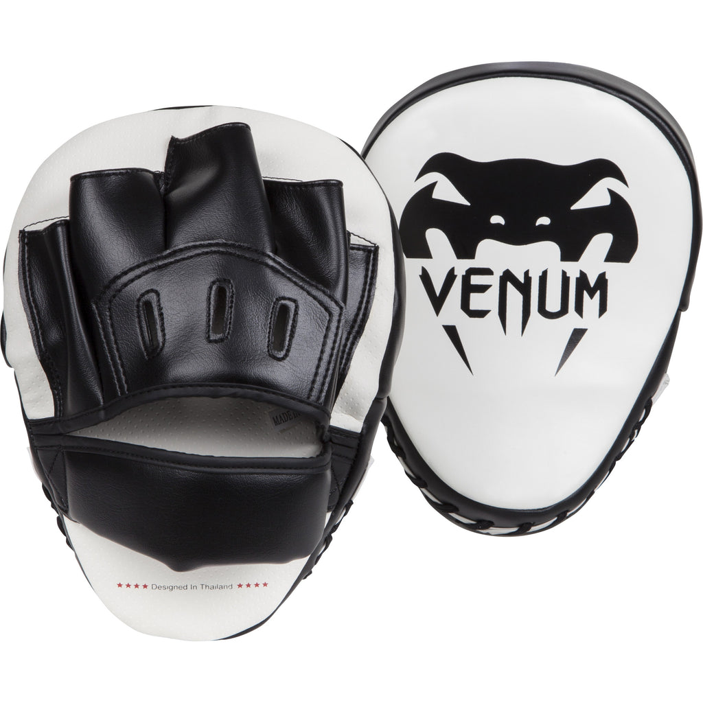 VENUM LIGHT FOCUS MITTS - ICE/BLACK (PAIR) - Bridge City Fight Shop - 1