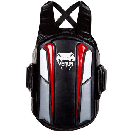 Venum Elite Body Protector - Black/Ice/Red - Bridge City Fight Shop