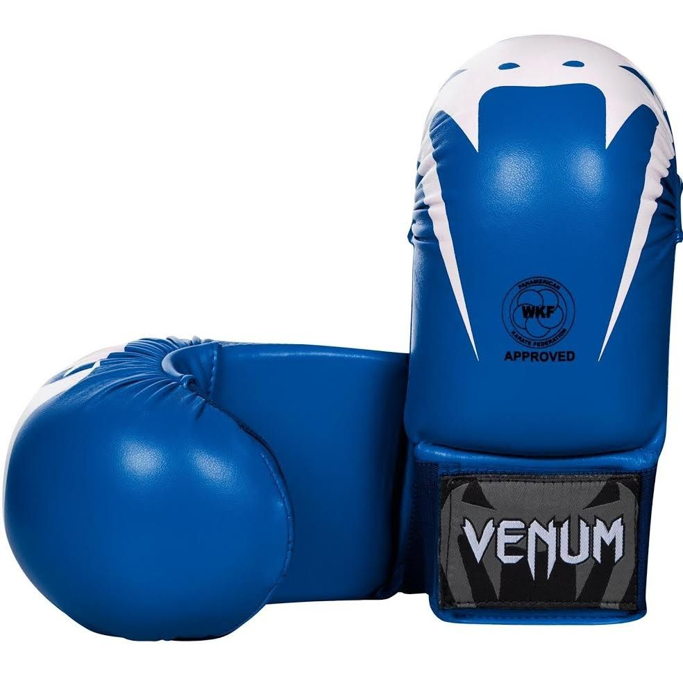 Venum Giant Karate Mitts - Without Thumbs - Approved by the PKF