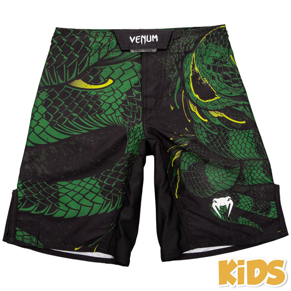 Venum Green Viper Fightshorts Kids