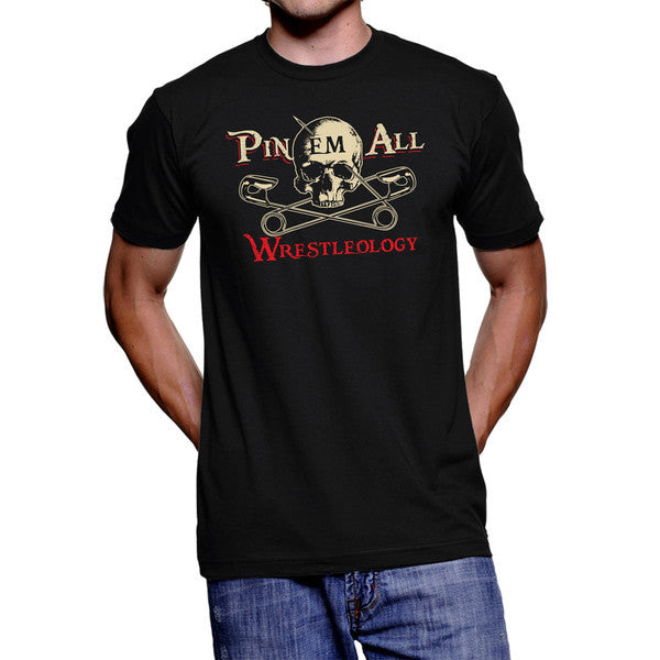 Wrestleology Youth Pin 'em All T-Shirt - Bridge City Fight Shop