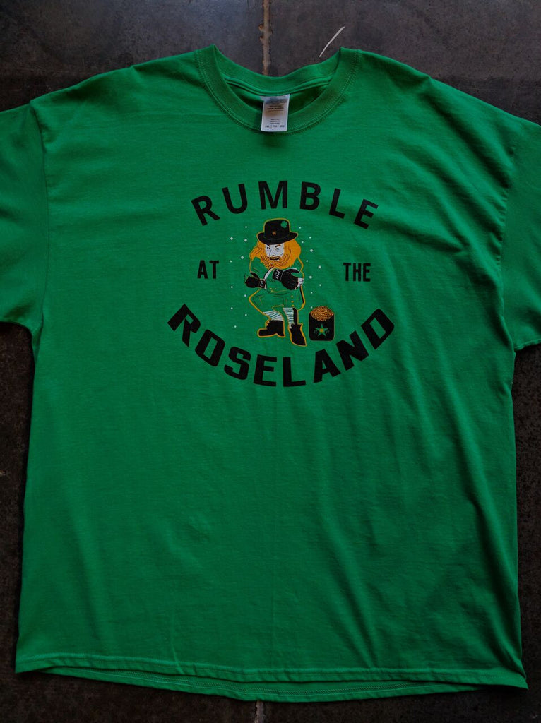 FCFF Rumble at the Roseland 86 Shirts - Bridge City Fight Shop