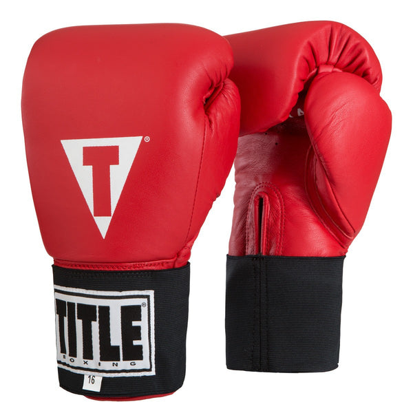 Title Amateur Hook & Loop Competition Gloves - Bridge City Fight Shop - 1