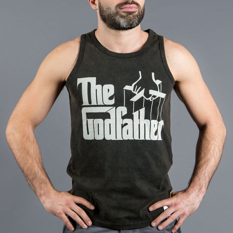 Scramble x The Godfather Tank Top - Bridge City Fight Shop
