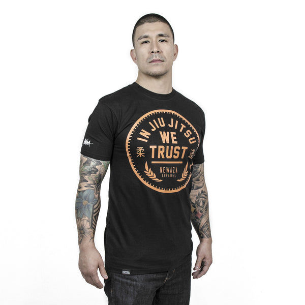Newaza In Jiu Jitsu We Trust Shirt