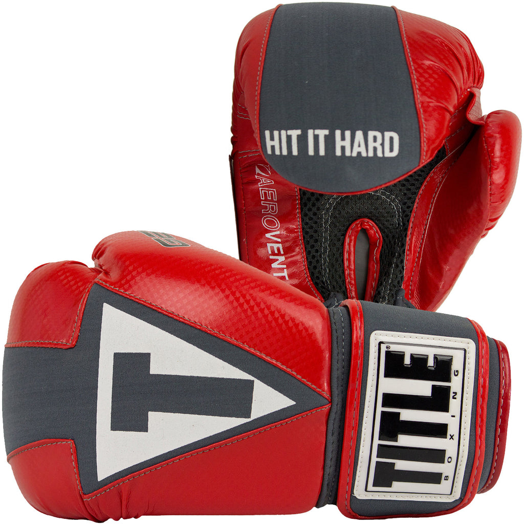 TITLE GEL Aerovent Washable Fitness Gloves - Bridge City Fight Shop
