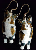 Corgi Dog Earrings