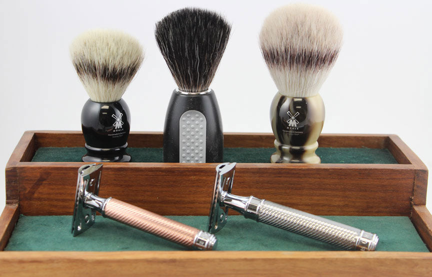 Adios Muhle Razors and Brushes