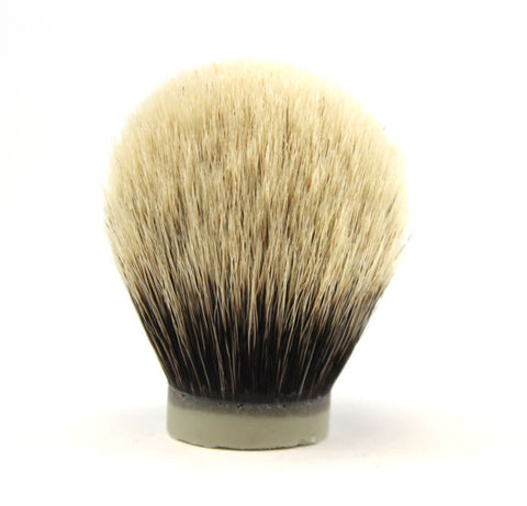 H.L. Thater Premium Two Band Badger Brush Knot -28mm Bulb