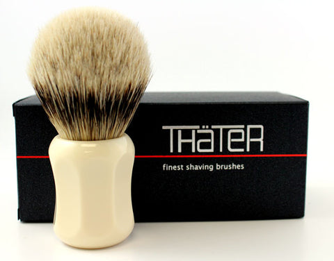 Heinrich L. Thater 4125 Ivory Brush with Bulb Knot in 3-Band Super