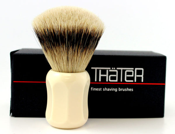 Heinrich L. Thater 4125 Ivory Brush with Fan Knot in 3-Band Super