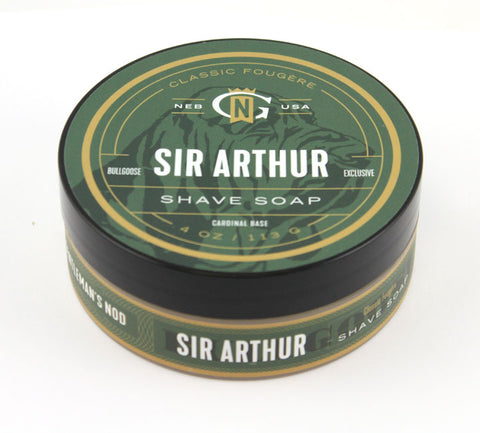 Gentleman's Nod Sir Arthur Tallow Shaving Soap