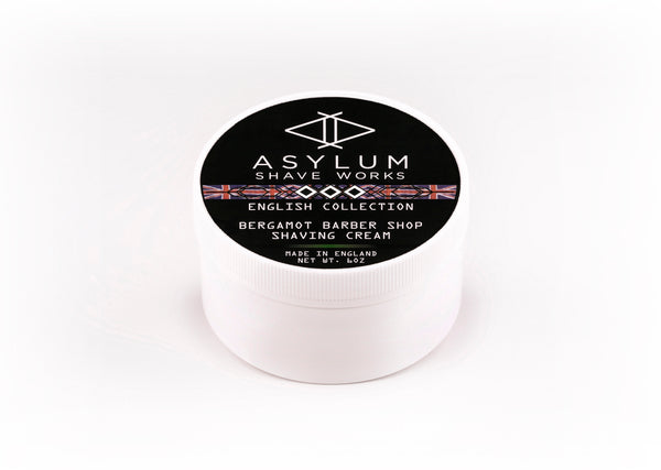 Asylum English Collection Shaving Cream -Bergamot (170g)