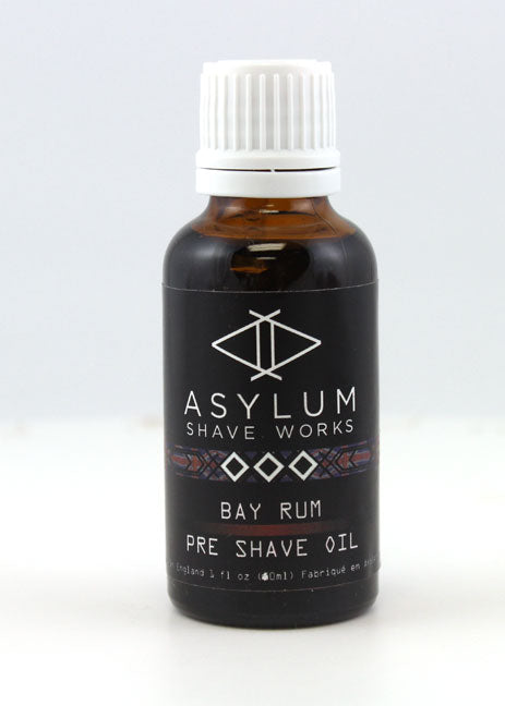 Asylum Shave Works Bay Rum Pre-Shave Oil (30ml)