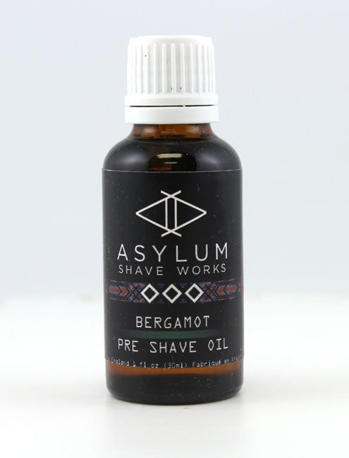 Asylum Shave Works Bergamot Pre-Shave Oil (30ml)