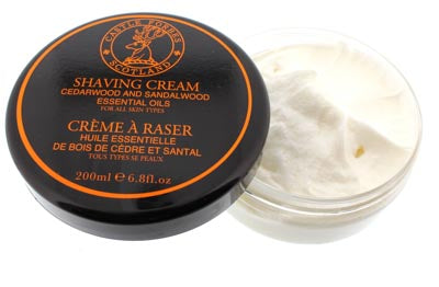 Castle Forbes Cedar and Sandalwood Shaving Cream (200g)
