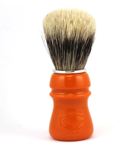 Semogue SOC Caravela (Mixed) Brush in Butterscotch Resin