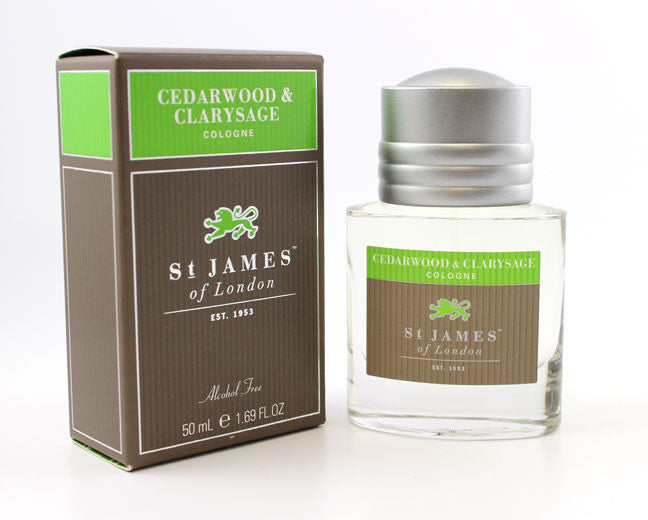 St. James Cedarwood & Clarysage Cologne (50ml)