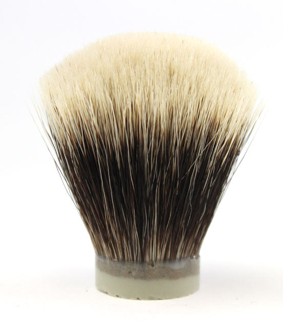 H.L. Thater Premium Two Band Badger Brush Knot -26mm Fan