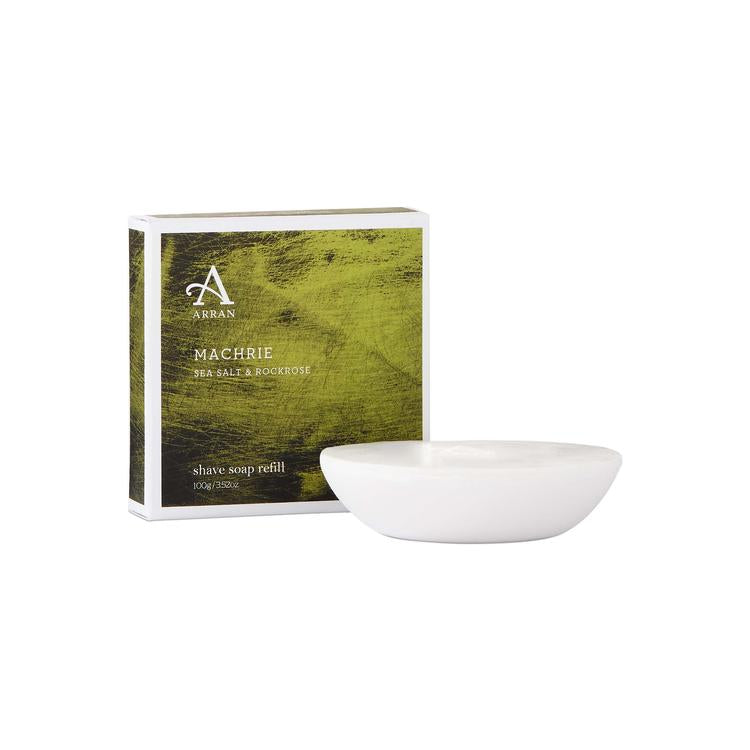Arran Aromatics Machrie Shave Soap Refill (100g)