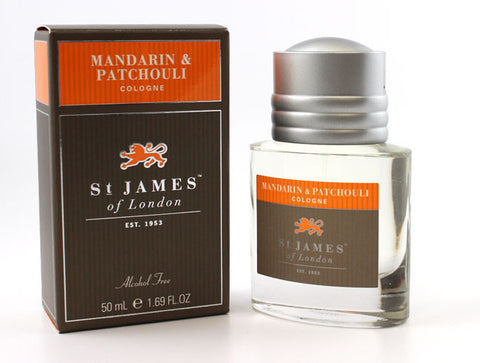 St. James of London Mandarin and Patchouli Cologne