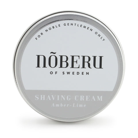 Noberu of Sweden Shaving Cream -Amber Lime (100ml)