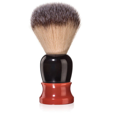 Fine Accoutrements Classic Shaving Brush -Brown & Orange