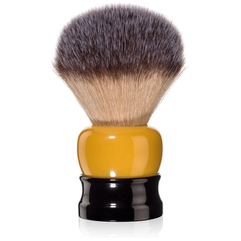 Fine Accoutrements Stout Shaving Brush -Orange & Black