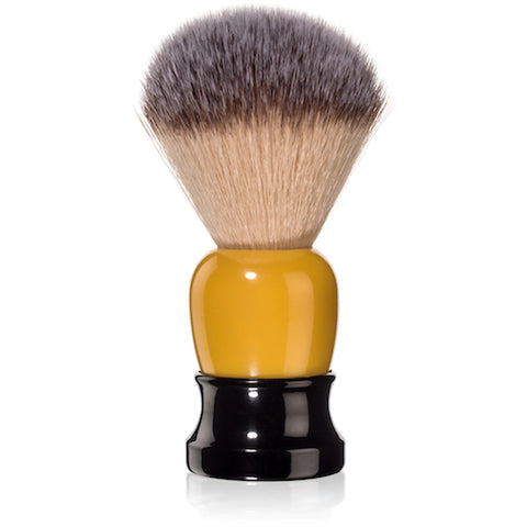 Fine Accoutrements Classic Shaving Brush -Orange & Black