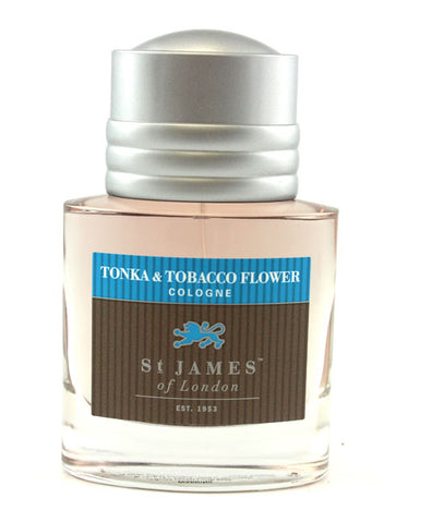 St. James of London Cologne -Tonka & Tobacco Flower