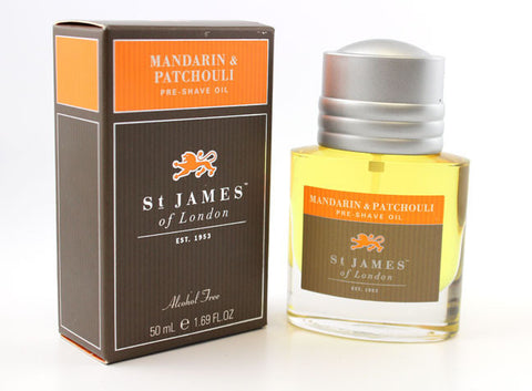St. James of London Pre-shave Oil