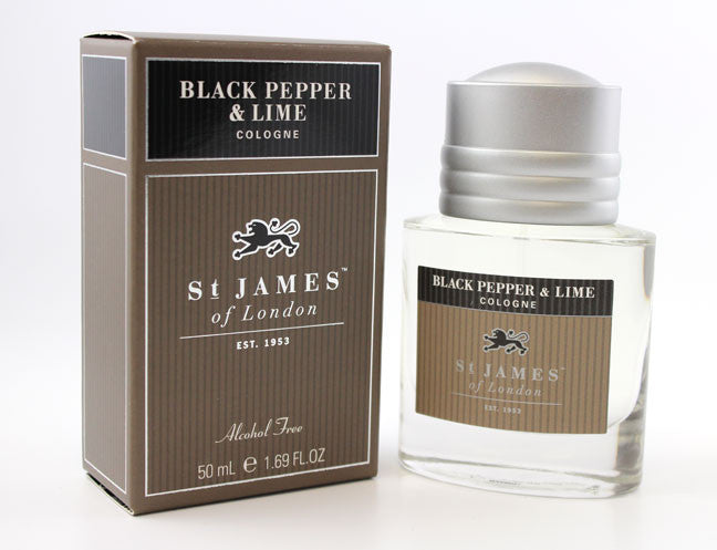 St. James of London Black Pepper & Lime Cologne
