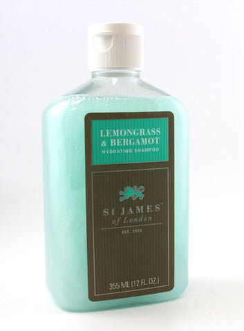 St. James of London Lemongrass & Bergamot Shampoo (12 OZ)