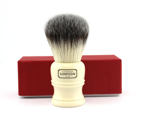 Simpson Trafalgar T2 Synthetic Fiber Shaving Brush